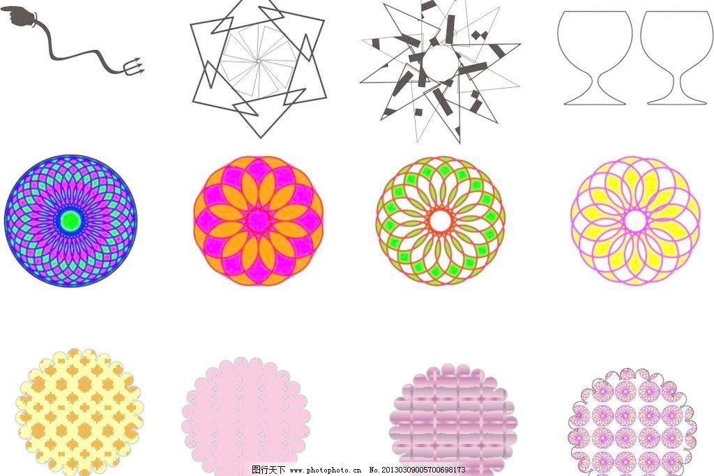设计简单的圆形