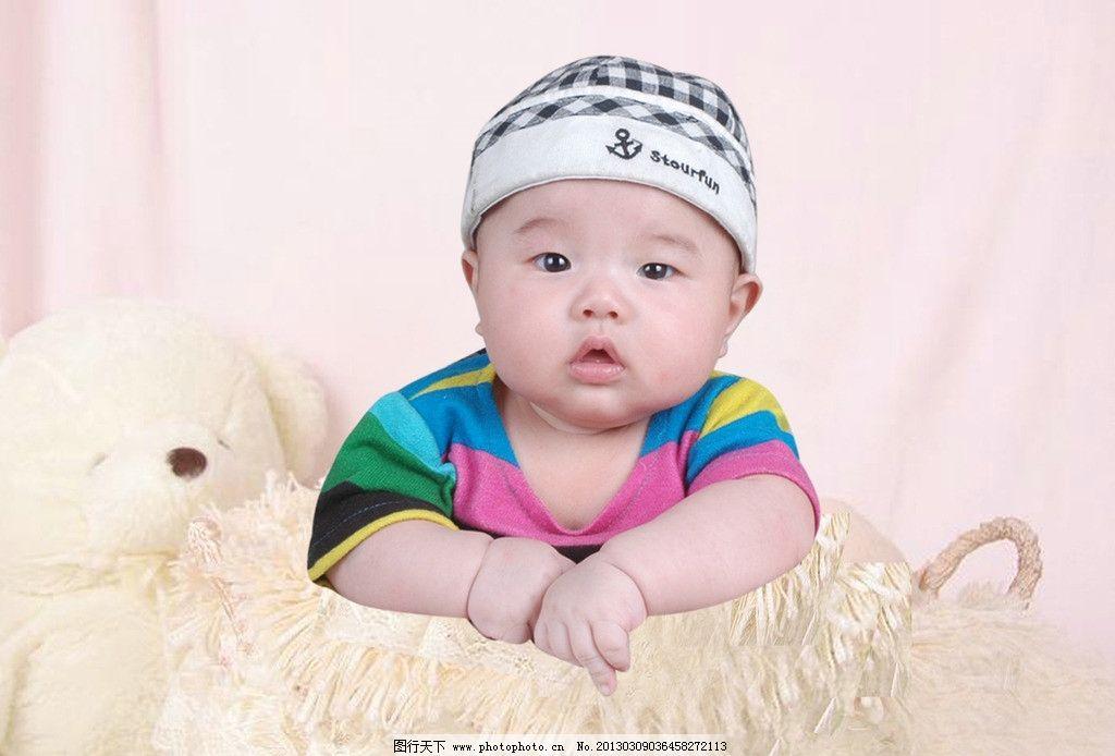 可爱天使 百天宝宝 可爱宝宝 儿童幼儿 人物图库 摄影