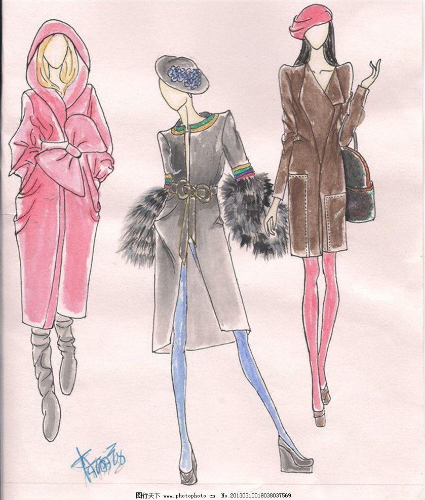 服装设计图 男式服装 休闲服装设计