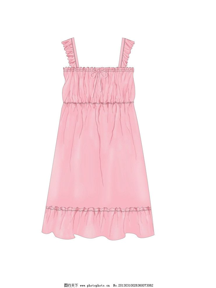 内衣设计 裙子 背心 吊带裙 服饰设计 服装设计 内衣款式 背心款式