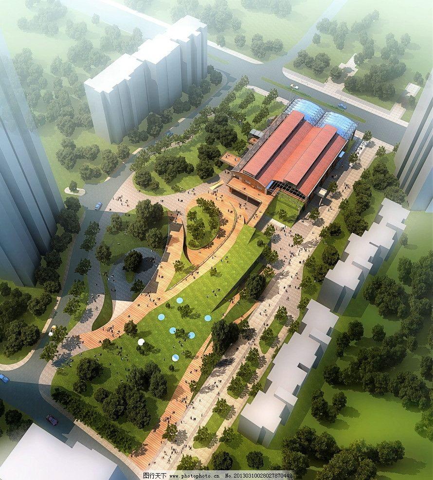 屋顶 绿化 运动 会所 高档 社区 中心 花园 公园 绿地 建筑设计 环境