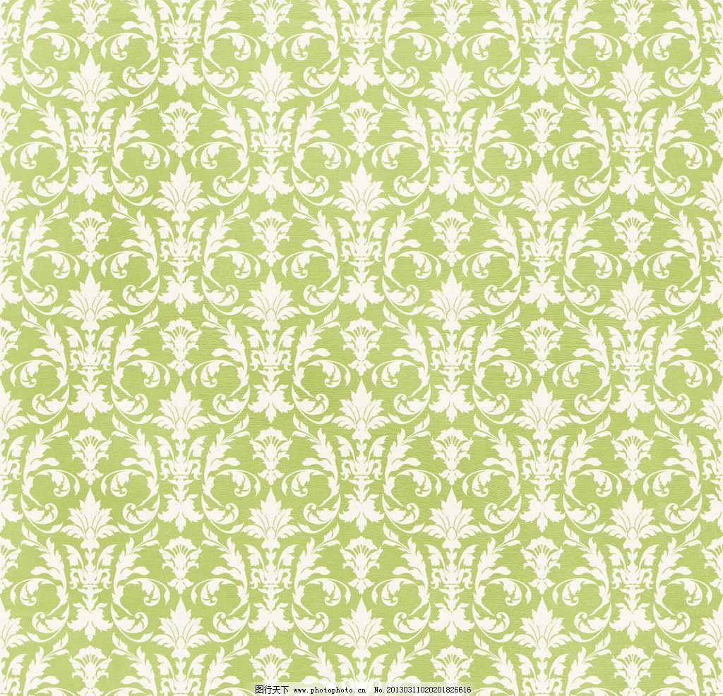 绿色华丽欧式花纹 绿色 绿底 民族风 传统 古风 华贵 欧式 宫廷 精美