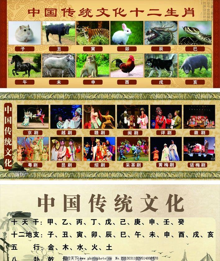 五行八卦 中国传统文化 戏剧 京剧 中国风 古典素材 古典花纹 广告