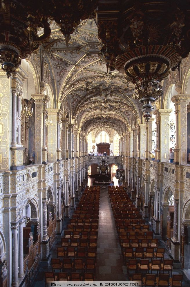 哥特式教堂 拱券 尖拱 拱形 罗马 石柱 复古 欧式 建筑 艺术