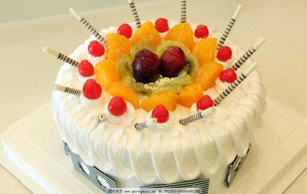 欧式蛋糕 生日蛋糕 奶油蛋糕图片