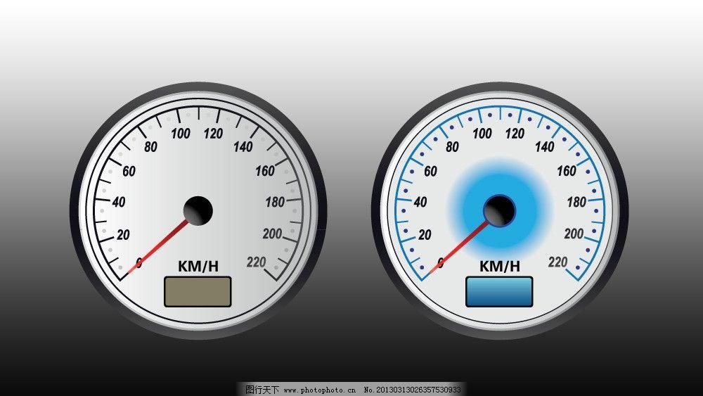 双仪表盘 汽车 仪表盘      指针 设计 汽车仪表盘设计 其他 生活百