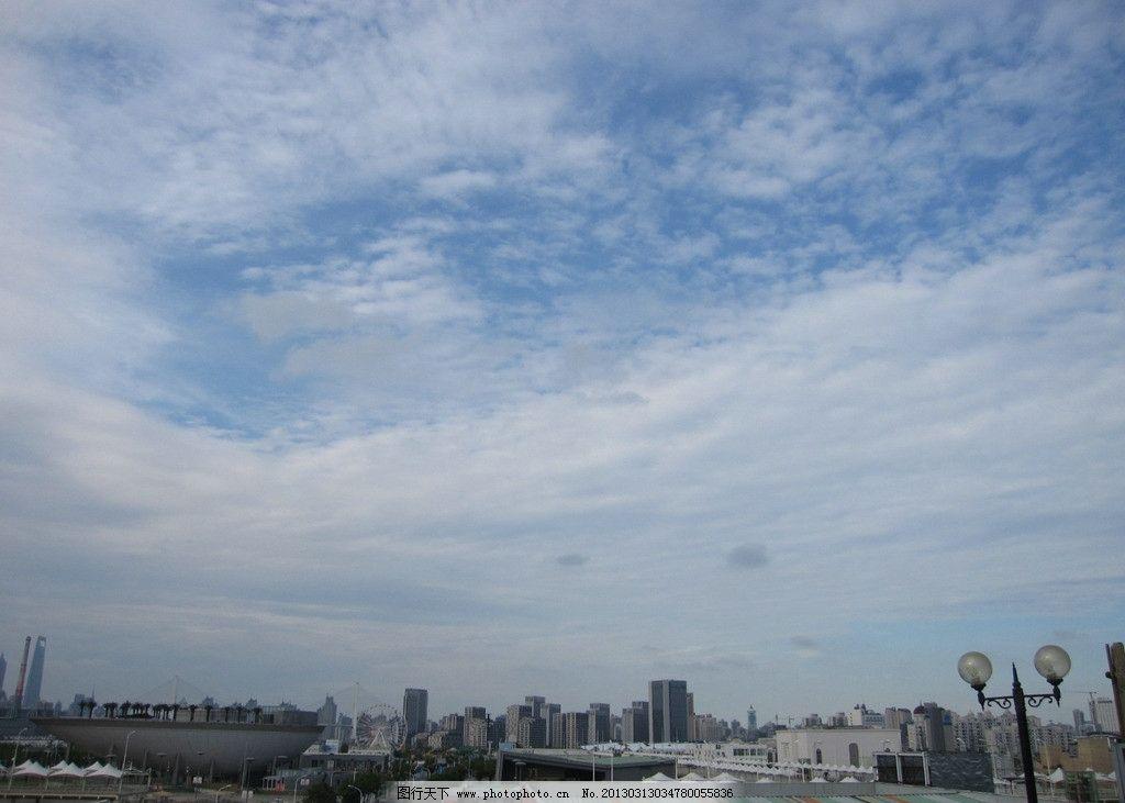 天空背景 天空 蓝天 建筑 ps后期处理素材 背景 上海世博 窗外景色 建