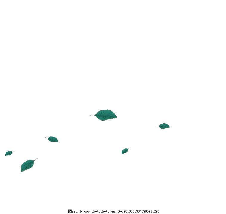 flash源文件 飘落的树叶图片