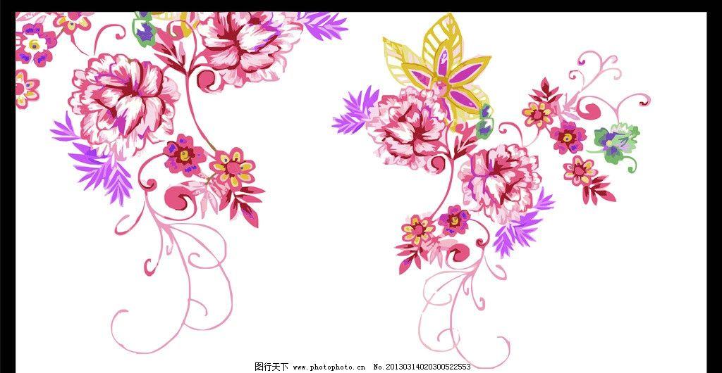 花纹图片,装饰壁画 欧式花纹 韩式花纹 经典花纹 花瓣