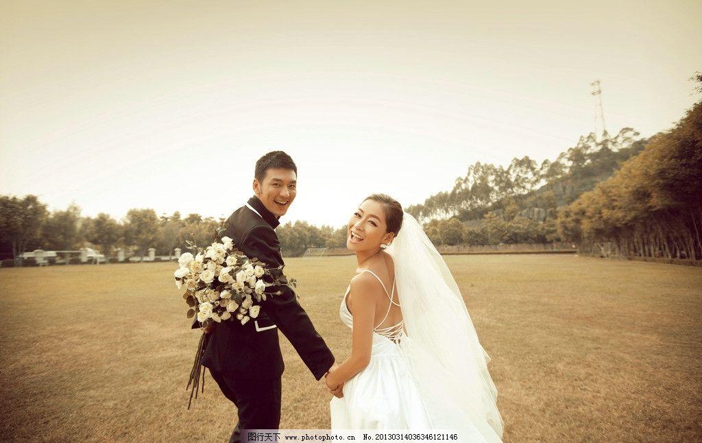 影楼样片图片,婚纱摄影 婚纱摄影样片 薰衣草 结婚-图