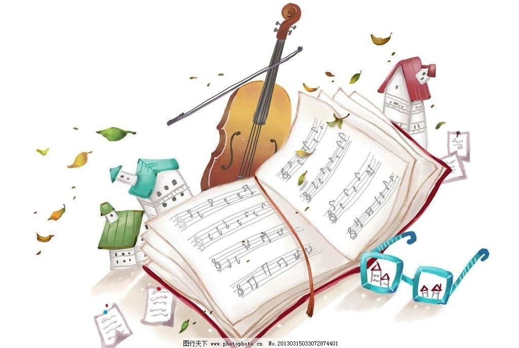 小提琴乐谱图片