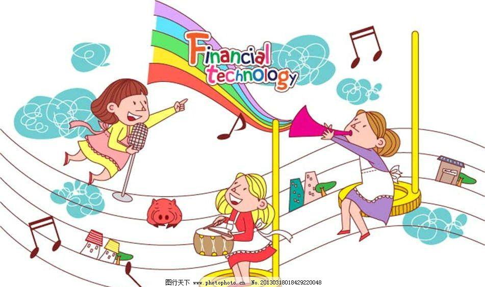 乐队唱歌 乐队 唱歌 歌唱 音乐 谱曲 鲜花 花朵 乐谱 商务 财经 经济