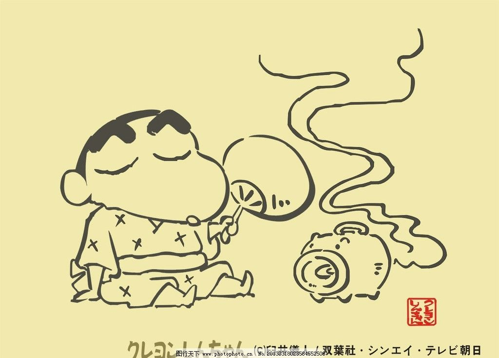 蜡笔小新 日本漫画人物 儿童偶像 cdr 漫画 儿童幼儿 矢量人物 矢量