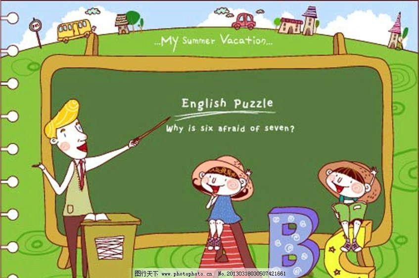 学英语图片