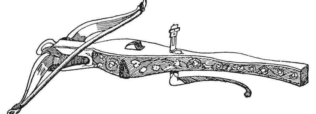 武器 中国古代 欧式风 弓弩图片_其他_装饰素材_图行