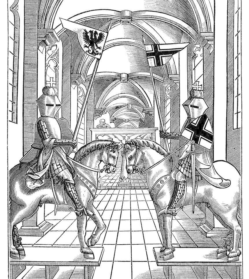欧式宫殿 骑士 皇冠 皇宫图片