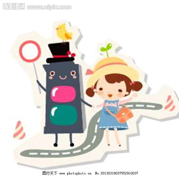 红绿灯 小女孩 小孩 孩子 儿童 插画 水墨 水彩 背景画 动漫 卡通 梦幻 图画素材 梦幻素材 童话世界 背景素材 卡通人物 卡通娃娃 梦想世界 儿童世界 卡通玩偶 漫画 梦幻世界 天堂 动漫玩偶 卡通设计 动画设计 动漫设计 幼儿卡通 矢量卡通设计 广告设计 矢量 EPS