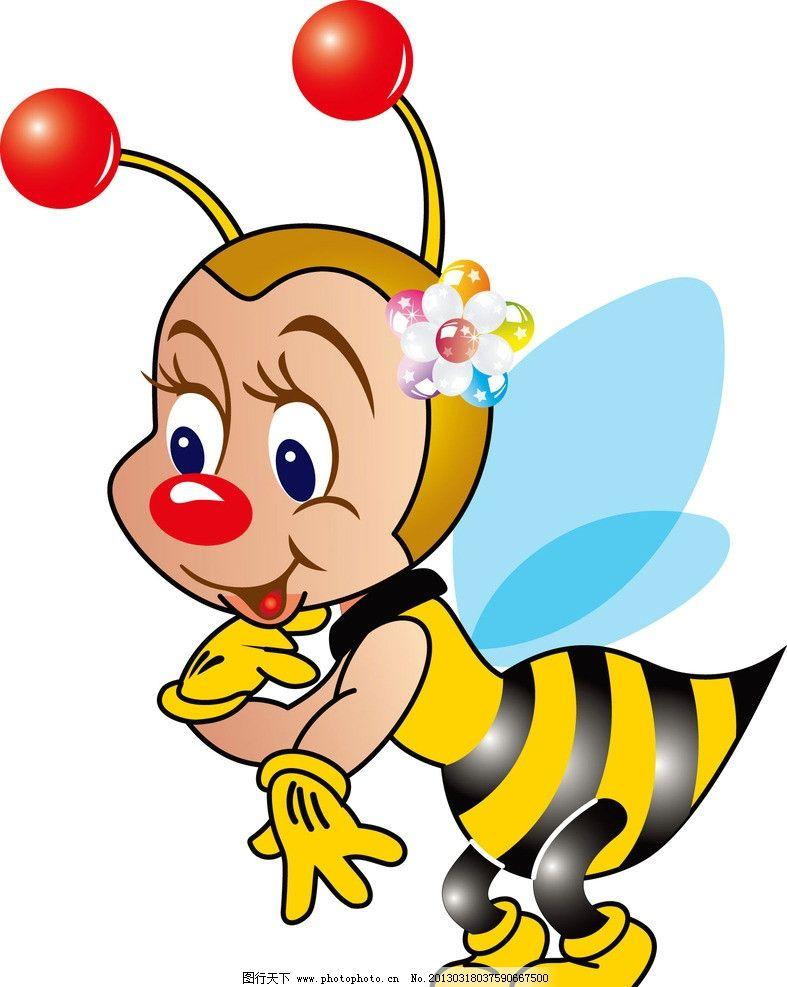 蜜蜂 天使 卡通图案 人物 衣服 印花 漏版 花 翅膀 卡通设计 广告设计