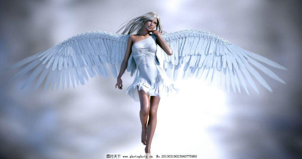 美丽白衣天使图片