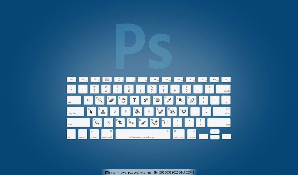 ps快捷键壁纸 壁纸 ps 桌面 背景 photoshop 电脑网络 生活百科 设计