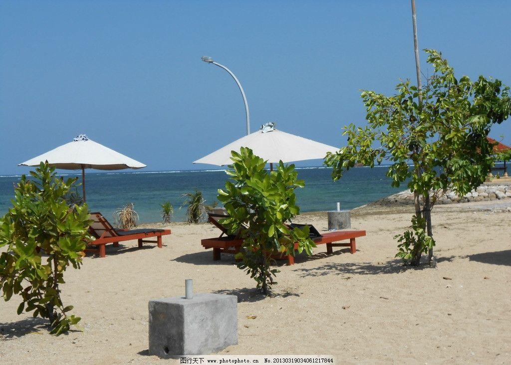 巴厘岛 海边 沙滩 国外旅游 摄影
