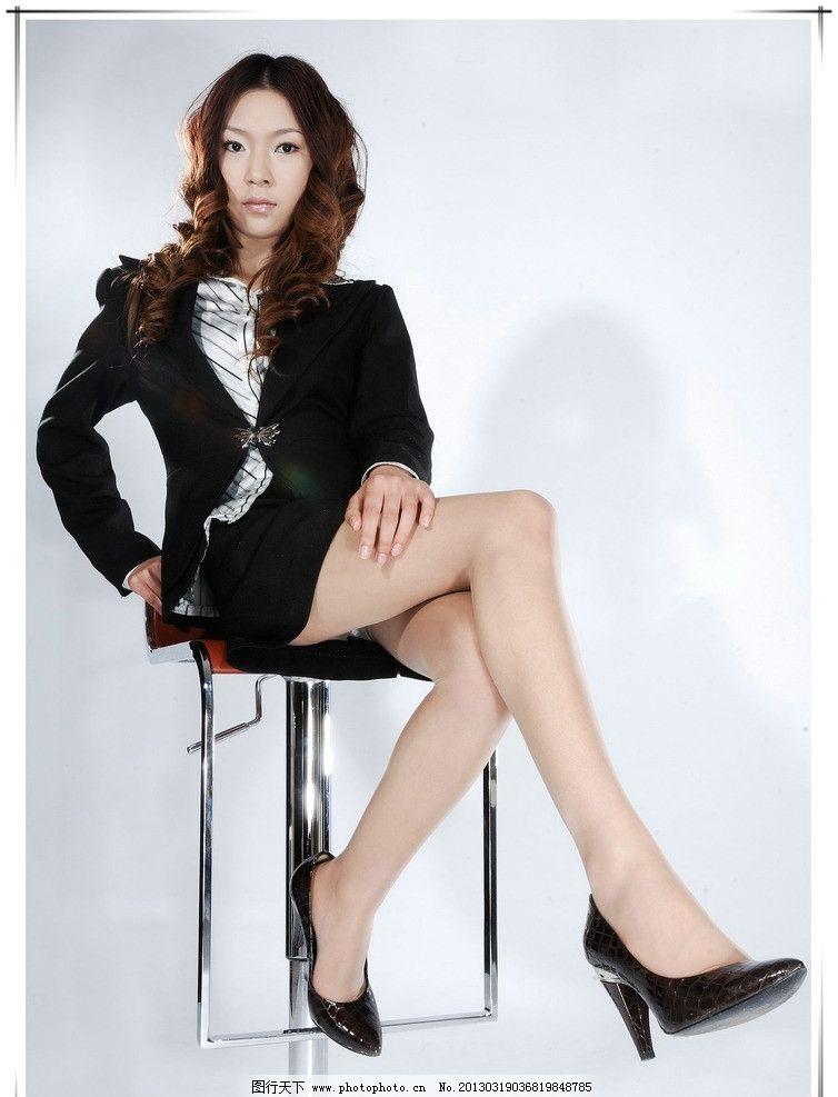秘书 美女 职业装 性感 妩媚 女性女人 人物图库 摄影 300dpi jpg