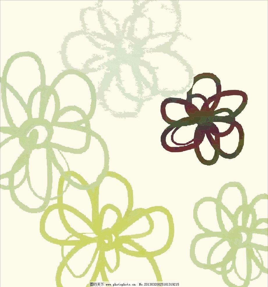 可爱的花怎么画