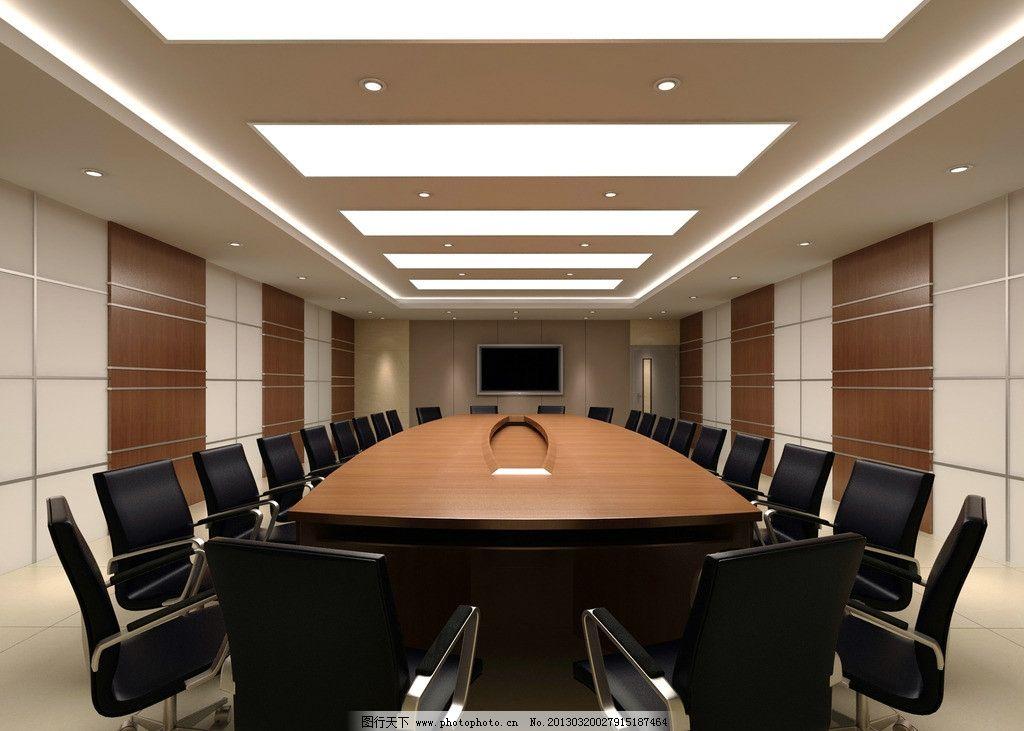 简洁实用 会议室/简洁实用的会议室图片