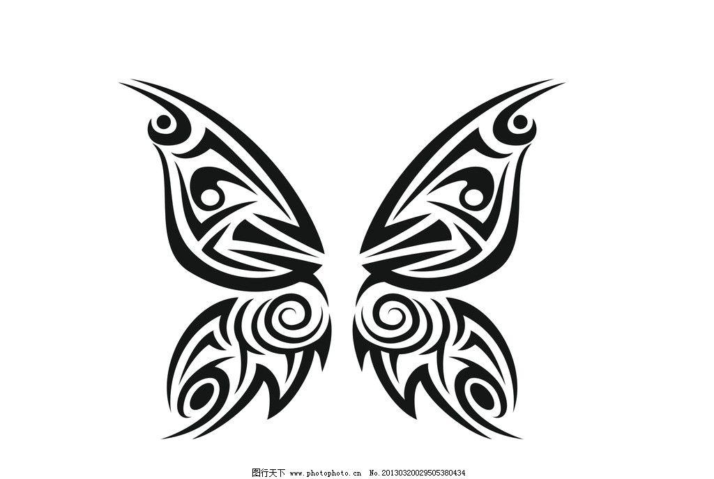 蝴蝶矢量图形图片