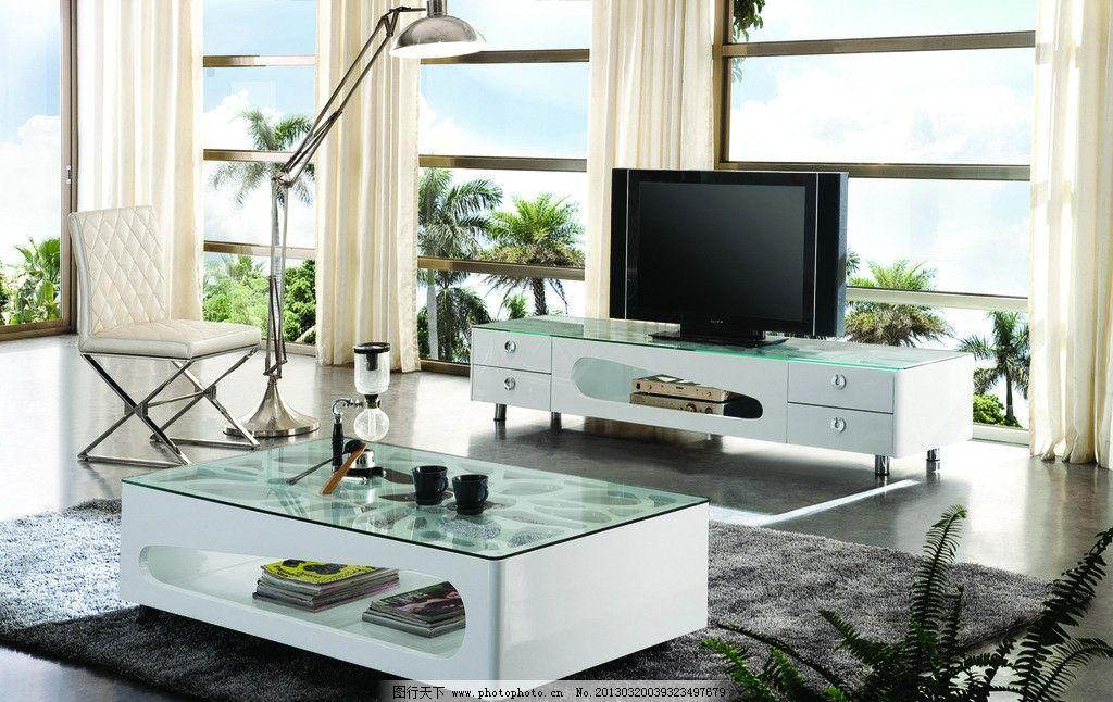 室内家具茶柜组合 茶柜组合 家具 电视柜 茶几 地毯 电视 电视柜茶几