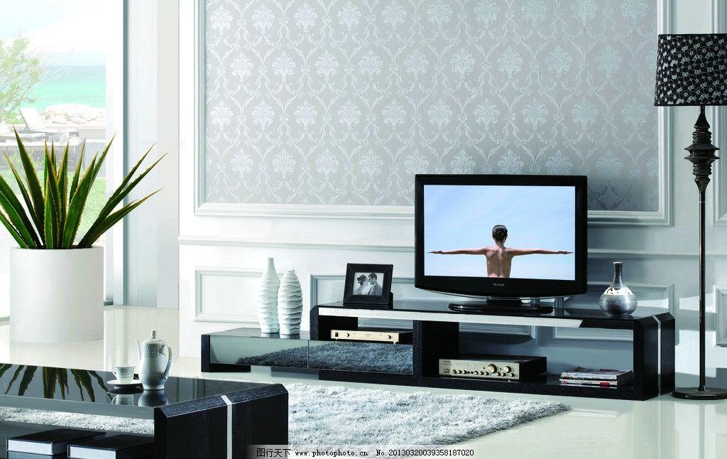 室内家具(茶柜组合)图片
