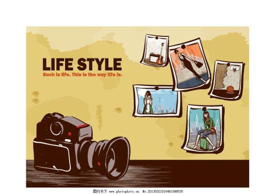 卡通相机桌面壁纸