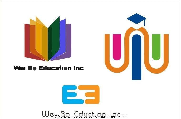 教育中心logo 书 书本 书籍 博士 博士帽 logo vi cis 视觉 设计 标志 字体 字形 企业 工厂 图案 图形 标识 矢量 公司 标题 图标 企业标准 企业LOGO标志 标识标志图标 CDR