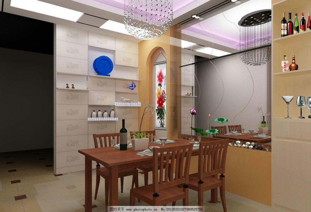 室内装饰效果图图片