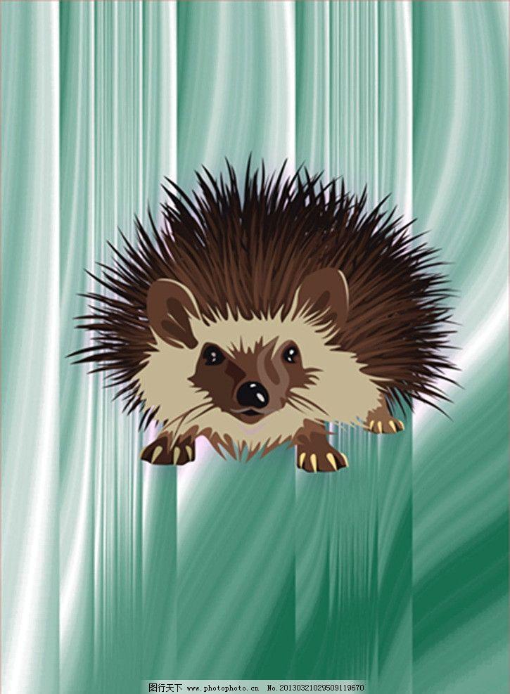 刺猬头像 刺猬头像矢量素材 动物      刺猬 矢量素材 广告设计 矢量