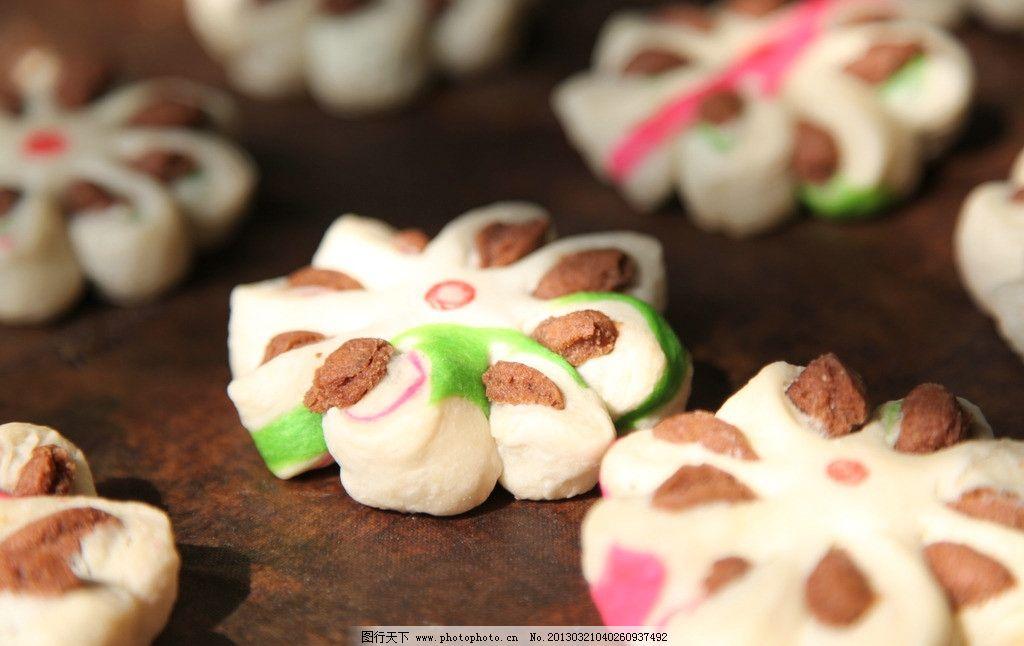 中国点心 中国小点心 酥点 中式糕点 月饼 美食 摄影图片