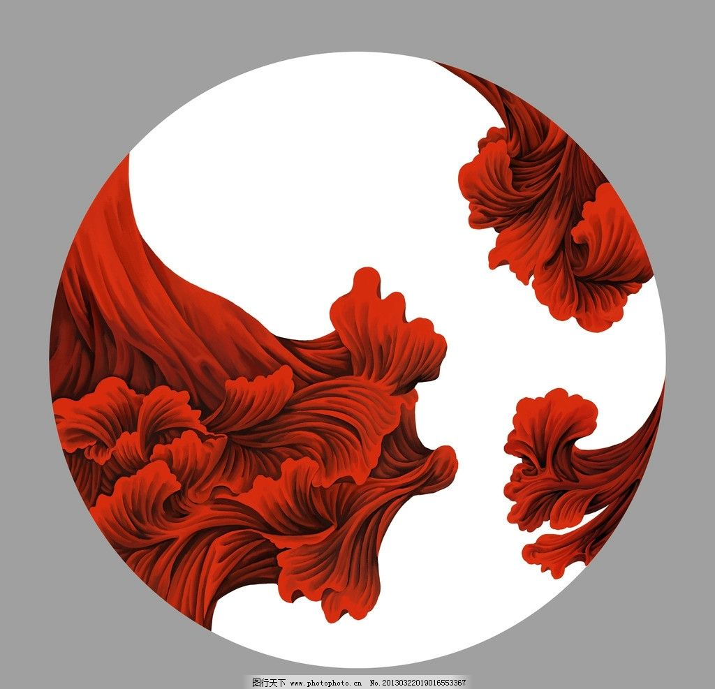 花纹 装饰图案 红色图案 酒店油画 酒店壁画 油画 欧洲油画 歌剧人物