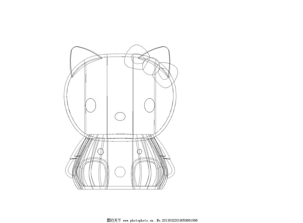hello_kitty动物外形图 jpg图片