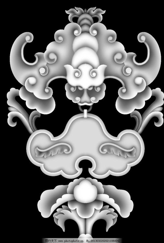 蝙蝠 精雕图 浮雕图 灰度图 电脑雕刻图 背景底纹 底纹边框 设计 100