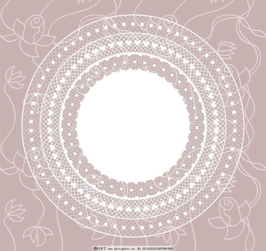 潮流 传统 底纹背景 底纹边框 对称 复古 欧式古典花纹底纹矢量素材