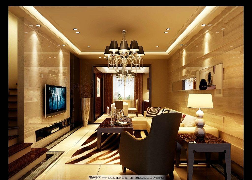 别墅装修室内效果图图片