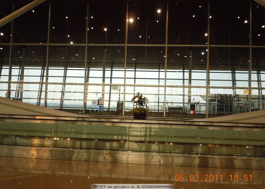 候机厅 机场 机场大厅 飞机场 曼谷机场 泰国曼谷 交通工具 现代科技