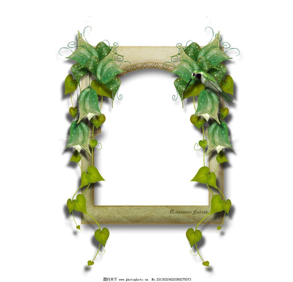 自然边框素材图片