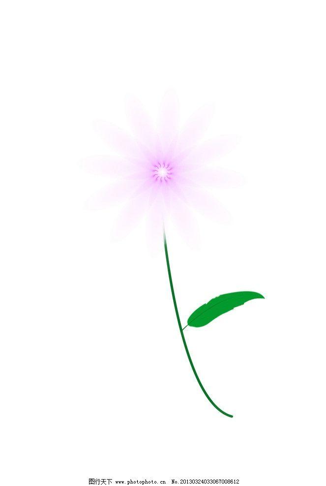 花儿 太阳花 手绘花朵 源文件