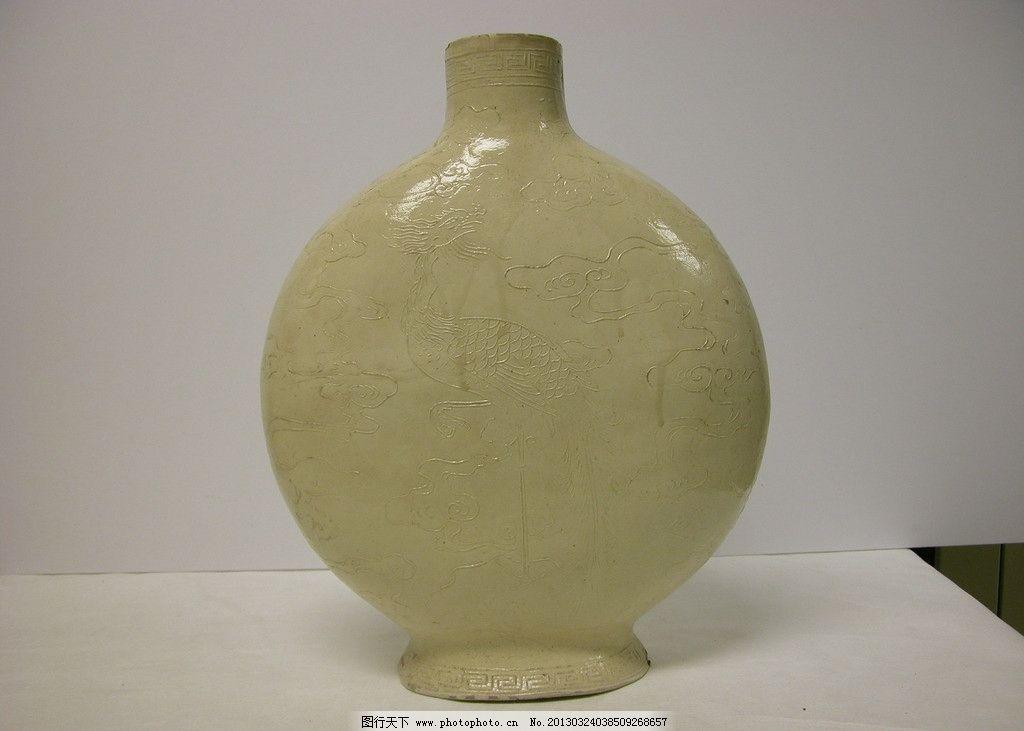 瓷瓶 瓷器 陶瓷 器皿 瓶子 扁瓶 传统文化 文化艺术 摄影 150dpi jpg