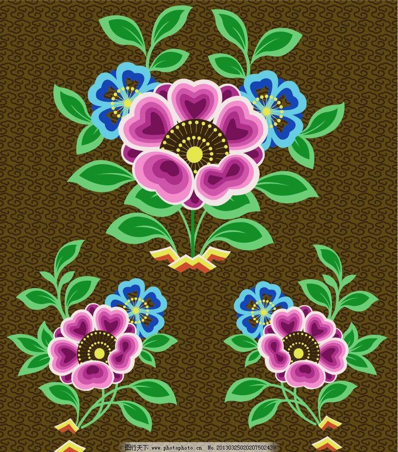 少数民族图案图片,花纹 花边 底纹 边框 矢量 背景-图