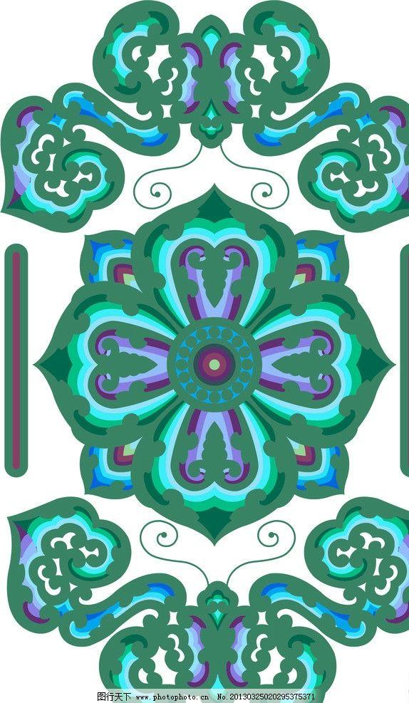 少数民族图案 花纹 花边 底纹 边框 矢量 背景 欧美 古堡 底纹背景