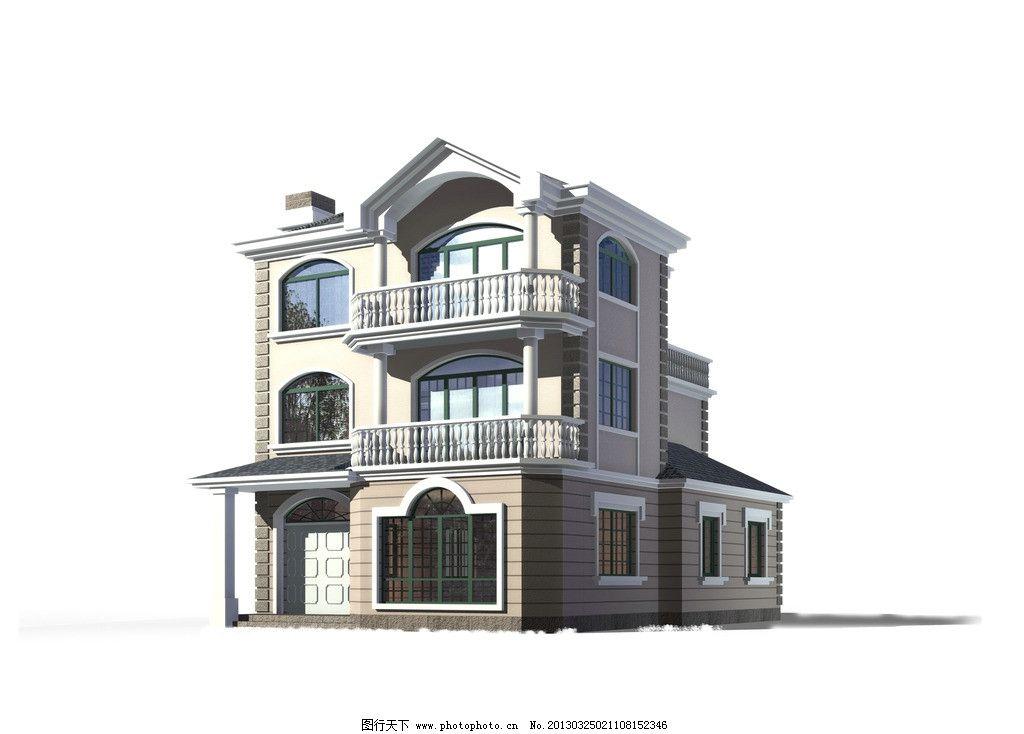 别墅 高清 三层 3d 建模        3d设计效果图 3d作品 3d设计 设计 72