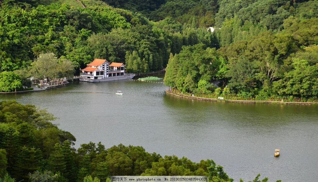 深圳仙湖植物园 深圳 罗湖区 仙湖 植物园 山水 自然风光 自然风景