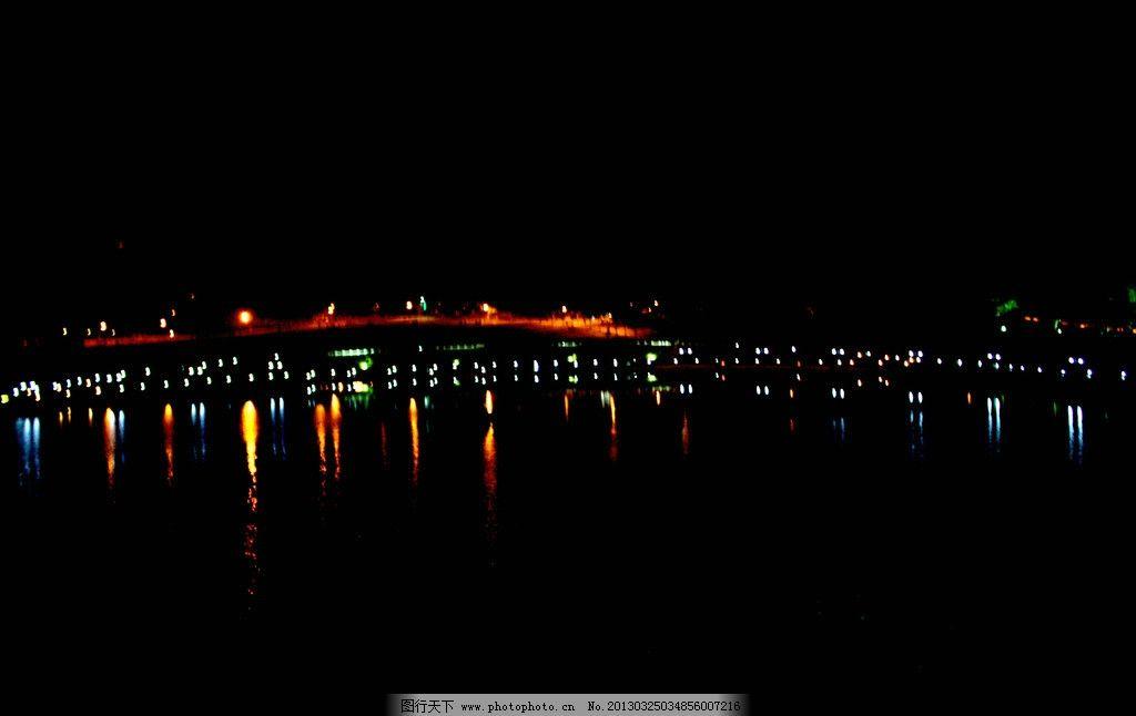 夜景 灯光 霓虹灯 自然风景 自然景观 摄影 72dpi jpg